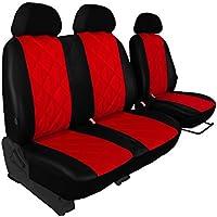 Sitze 16 Grau Transporter Sitzbezüge Set Maß Autositzbezüge Toyota ProAce II 9