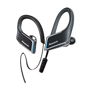 Panasonic RP-BTS50-K 3D Flex Sport Clip In-Ear Headphone, Black