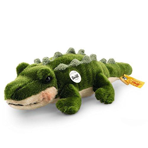 Steiff 67792 - Rocko Krokodil 30, Traditioneller Plüsch, grün (Plüsch-eichhörnchen Große)