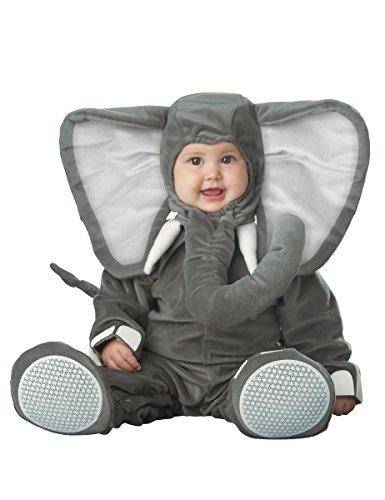 Deluxe Elefanten-Kostüm für Babys mit großen Ohren