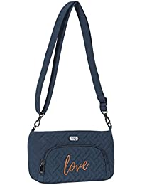 Lug Women'S Flyer Mini Cross Body Bag, Navy Blue, One Size