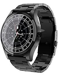 lā Vestmon Montre Homme Montre Sport Intelligent, écran Bluetooth Smart Intelligent Montre avec écran Couleur 1,2 Pouces IPS Full HD Courbe à écran Tactile avec Une Résolution de 240 x 240