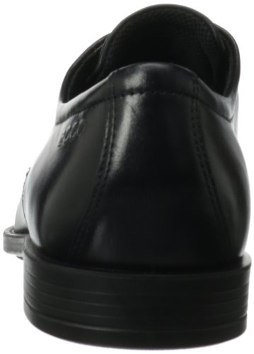Ecco Edinburgh, Derby Homme Noir (Black)