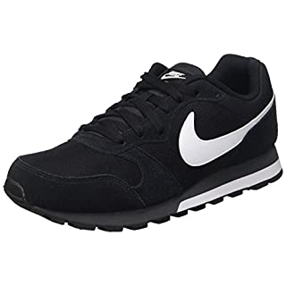 Nike MD Runner 2, Herren Sneakers, Schwarz (Black/White-Anthracite 010), 42 EU (7.5 Herren UK)