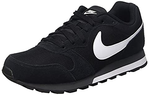 Nike MD Runner 2, Herren Sneakers, Schwarz (Black/White-Anthracite 010), 46 EU (11 Herren UK)