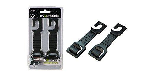 Hyper Sonic® hp2549 pratique universelle Supports Crochets Support Sac à installer sur support, pour tous les Tête avant ou arrière de la tête de 8-12,5 mm Convient, montage facile Accessory Hook