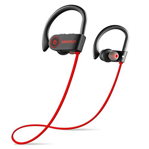 Ohr zum Aufhängen Sport Kopfhörer Stereo-Bluetooth-Headest dual-in-Ear Bass IPX7Sieben Wasserdicht Dual-bud-stereo