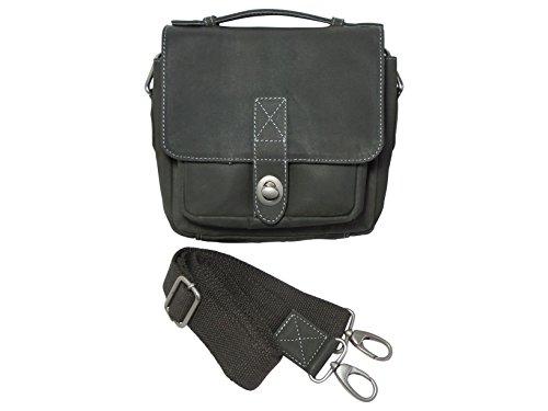bull-hunt-klassische-handtasche-leder-in-grau-old-school-wendefunktion-der-berschlaglasche-schultert