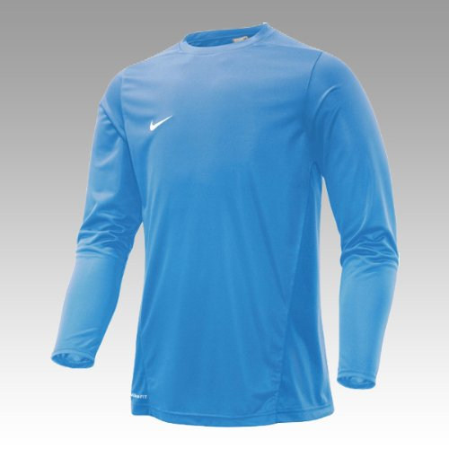 NIKE Herren Langärmliges Trainingstrikot Park IV Game, university blue/white, L, 329363 (Trikot Womens Dri-fit)