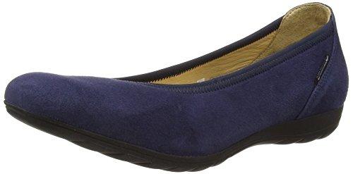 Mephisto Emilie Velcalf Premium 12297 Indigo, Ballerines Fermé femme bleu (INDIGO)