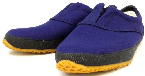 Chaussons Arts Martiaux Tabic Importe du Japon Navy