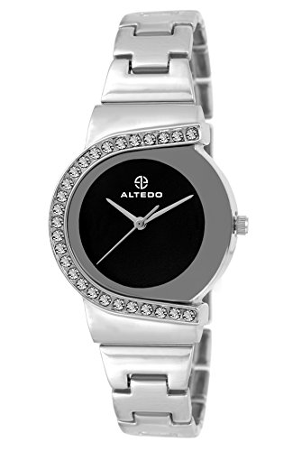 Altedo Analogue Black Dial Womens Watch-705Bdal
