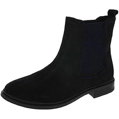 Heavenly Feet Chelsea Stivali Blu Marino