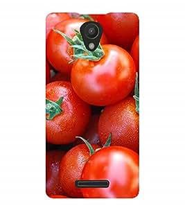 Fuson Designer Back Case Cover for Xiaomi Redmi 3s :: Xiaomi Redmi 3s Prime :: Xiaomi Redmi 3 Plus (Red Tomatoes Ripe Tomatoes Juicy Tomatoes Juicy)