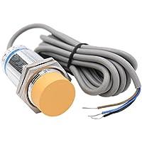 Kapazitiver Näherungs-Sensor, Näherungsschalter LJC30A3-H-Z/BX, Detektor 1-25 mm 6-36V (Gleichstrom), 300mA, NPN, normalerweise offen (NO), 3 Drähte, von Heschen