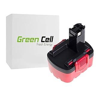 Green Cell Werkzeug Akku für Bosch ANGLE EXACT 75-110 (Ni-MH Zellen 3 Ah 14.4V)