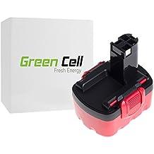 Green Cell® Batería de Herramienta Eléctrica para Bosch PSR 1440 (Ni-MH 3Ah 14.4V)