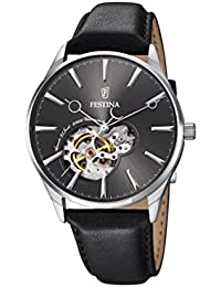 Festina Herren-Armbanduhr Analog Automatik Leder F6846/2