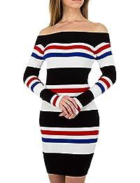Robe Femme Mamalicious Mluta L//S Knit Kl Dress V