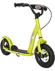 BIKESTAR Roller Kinderroller Tretroller Kickscooter mit Luftreifen für Jungen und Mädchen ab 4-5 Jahre ★ 10 Zoll Classic Kinder Scooter ★