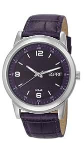 Esprit Damen-Armbanduhr Solara Analog Quarz Leder ES105642003