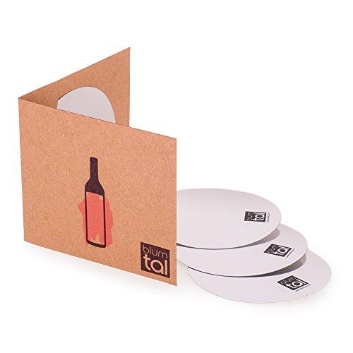 Vertedor De Vino | Kit, Utensilios y Accesorios Para Botellas De Vino | Lamina Antigoteo | Disco Lavable y Reutilizable | Sirva Sin Derramar Una Sola Gota | Por Blumtal (Set De 6 Piezas). width=