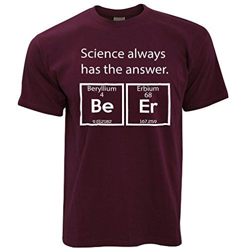 Tim and Ted beryllium Erbium Beer Mens T-Shirt