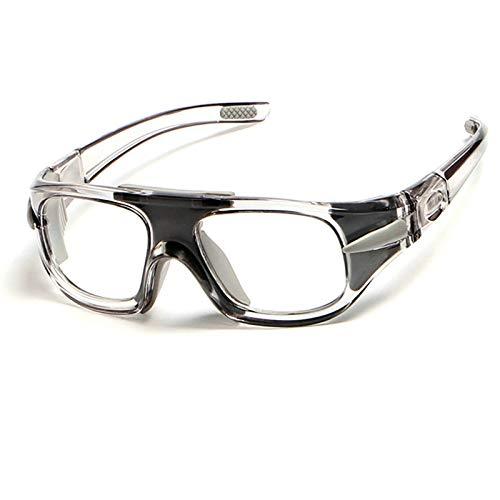 Aeici Sportbrille TPU+PC Herren Sportbrille Arbeitsbrille Kratzfest Grau