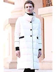 YRF Robes de l'hiver. Manches longues de couleur unie stand col du manteau. Dans le manteau. Épaisse doudoune