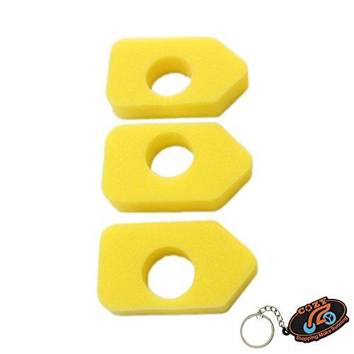 Cozy Stück Schaumstoff-Luftfilter für Briggs & Stratton 698369Classic, Sprint und Quattro Motoren 450500550Series -