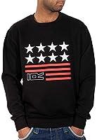 Rocawear Mens Boys USA Red Star Jumper Sweatshirt Hip Hop Money Is Time