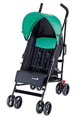 Safety 1st 11329420 Slim Passeggino, Nero/Verde