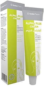 Avalon Pharma Alpha Plus Cream for skin brightening, 30 gm