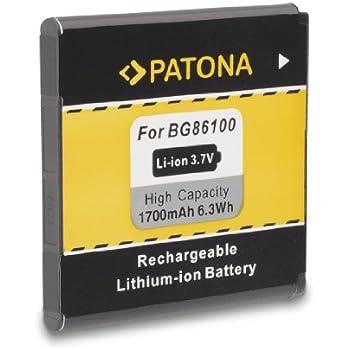 PATONA Batterie BA-S560 pour HTC Evo 3D HTC Pyramid Sensation 4G XE XL HTC Shooter Sprint Titan X310e X315e X515m HTC Z710e Z715e Google G14 MyTouch 4G Slide T-Mobile Sensation 4G X515d Z710e Z715e