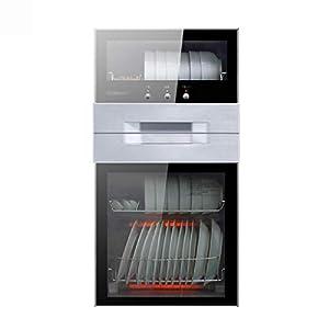 MXRqndqa Wärmegeräte Desinfektionsschrank Heim vertikales Geschirr Schrank Sideboard kleines Mini Hochtemperatur Desinfektion Edelstahl Schrank