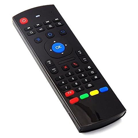 Keple | Mini Wireless Tastatur Air Mouse Fernbedienung für Sony Bravia kdl-49wd751, kd-43X E8005, kd-49X 8305C, kdl-32wd755, kdl-49wd755, xbr-x940d Serie, xbr-z9d Serie