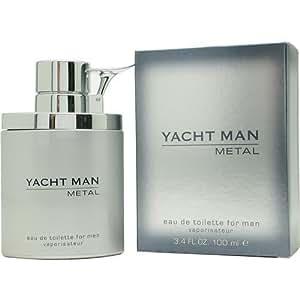 Myrurgia Yacht Man Metal Eau De Toilette For Men Vaporisateur 100Ml
