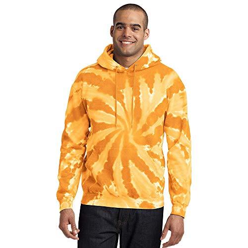 Yvelands Herren Sweatshirt Herbst Herbst Gewinner Lange lose Camouflag Ärmel Hoodie Sweatshirt Top Tee Bluse(EU-54/L3,Orange)