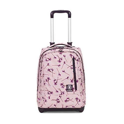 Trolley invicta - tindy - pink paradise rosa fantasia - 36 lt spallacci a scomparsa! uso zaino scuola e viaggio