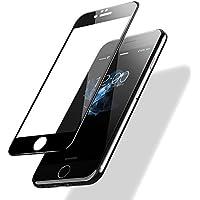 iPhone 6/ 6s Templado Protector de Pantalla, POSUGEAR 3D Negro Pantalla Completa Cristal Templado Pantalla protectora [9H Dureza] [Anti Blu Ray] [3D Touch Compatibles] - Negro