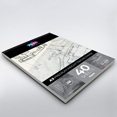 /90/g//mq /Pablo/® A3 Carta velina,/ /Premium 40/fogli/ elevata trasparenza/