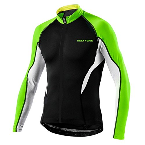 Uglyfrog 2018 MA03 Frühling Herbst Fahrradtrikot Langarm Shirt Herren Breathable Radfahren Fahrrad Lange Hülsen Jersey Fahrrad Hemd Männer Langarm Fahrradbekleidung Radfahren