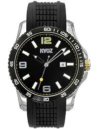 KA:OZ A58924-1S5I - Reloj para hombres, correa de goma color negro