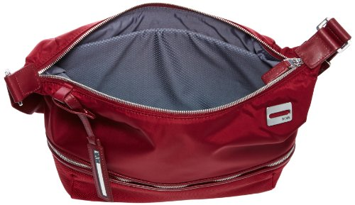 Nava Down Town Body Bag Small Cherry, Borsa Tascapane, Donna Rosso