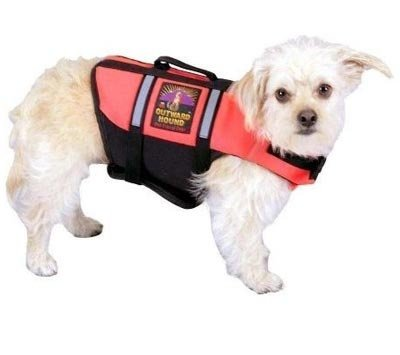 Outward Hound Kyjen   Pet Saver Life Jacket, Medium, Orange
