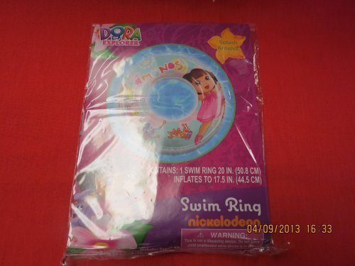 Nickelodeon Dora the Explorer Swim Ring by Nickeledeon
