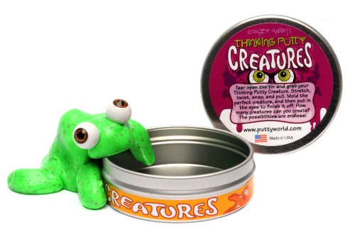 Crazy Aarons Putty World Crazy Aarons Putty World Creature Green Putty