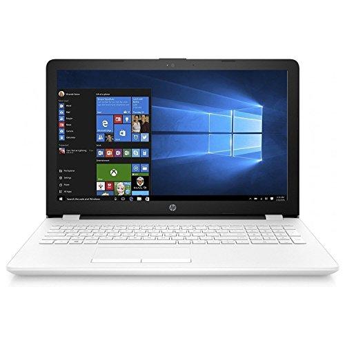 HP Notebook 15-BS006NS - Ordenador Portátil HD, Intel Core i3-6006U, 4 GB RAM, 500 GB HDD, Intel HD Graphcis , Windows 10, Negro, 15.6' - Teclado QWERTY Español