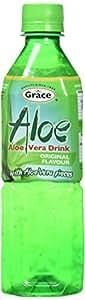 Grace Aloe Vera Drink 500 Ml (Pack of 12)