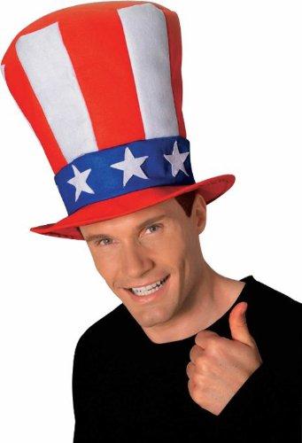 Sam Halloween Kostüme Uncle (Uncle Sam Patrioten Hut)